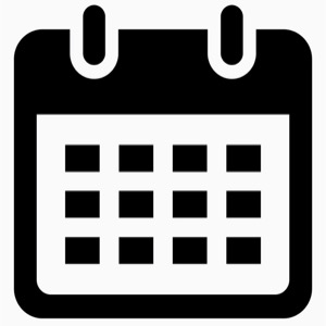 This is an icon of calendar